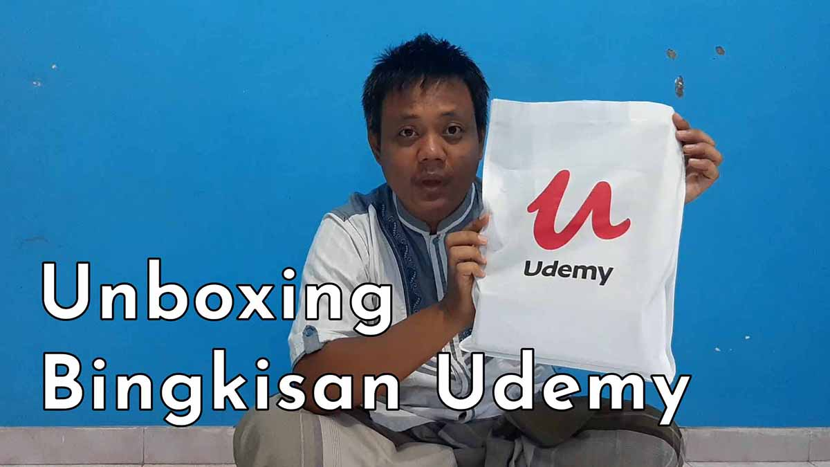 Unboxing Giveaway Udemy 2021