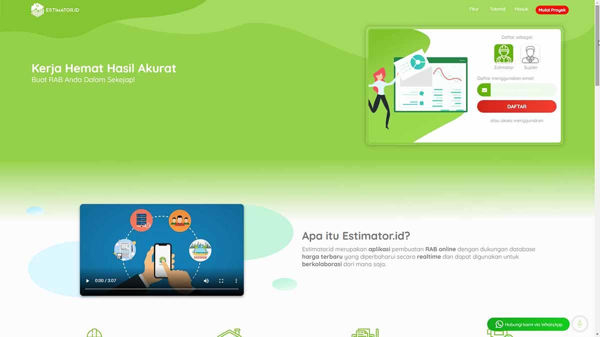 Website Estimator ID