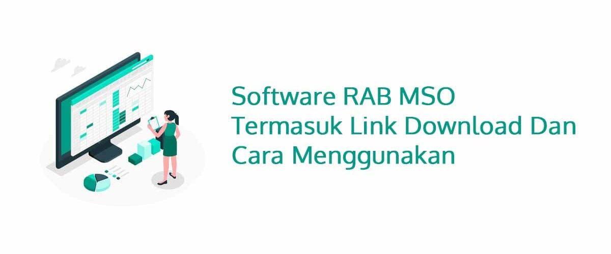 Software RAB MSO Termasuk Link Download dan Cara Menggunakan