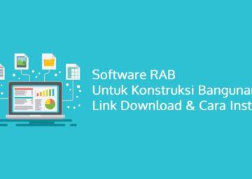 Software RAB untuk Konstruksi Bangunan Link Download & Cara Install