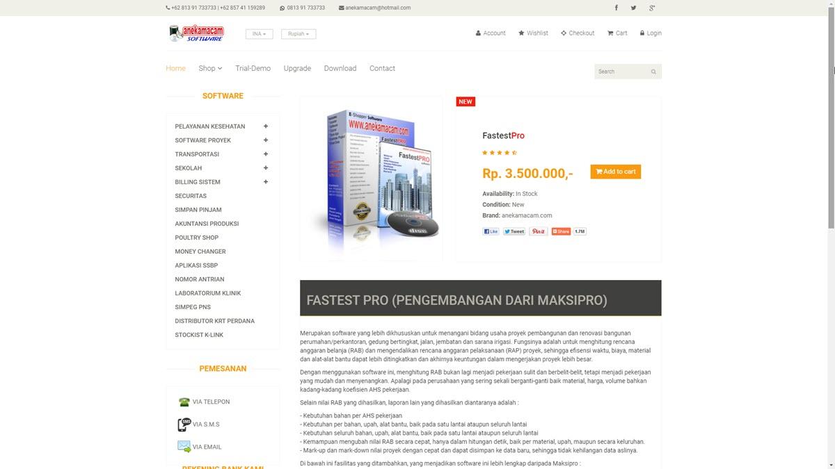 Website Aneka Macam