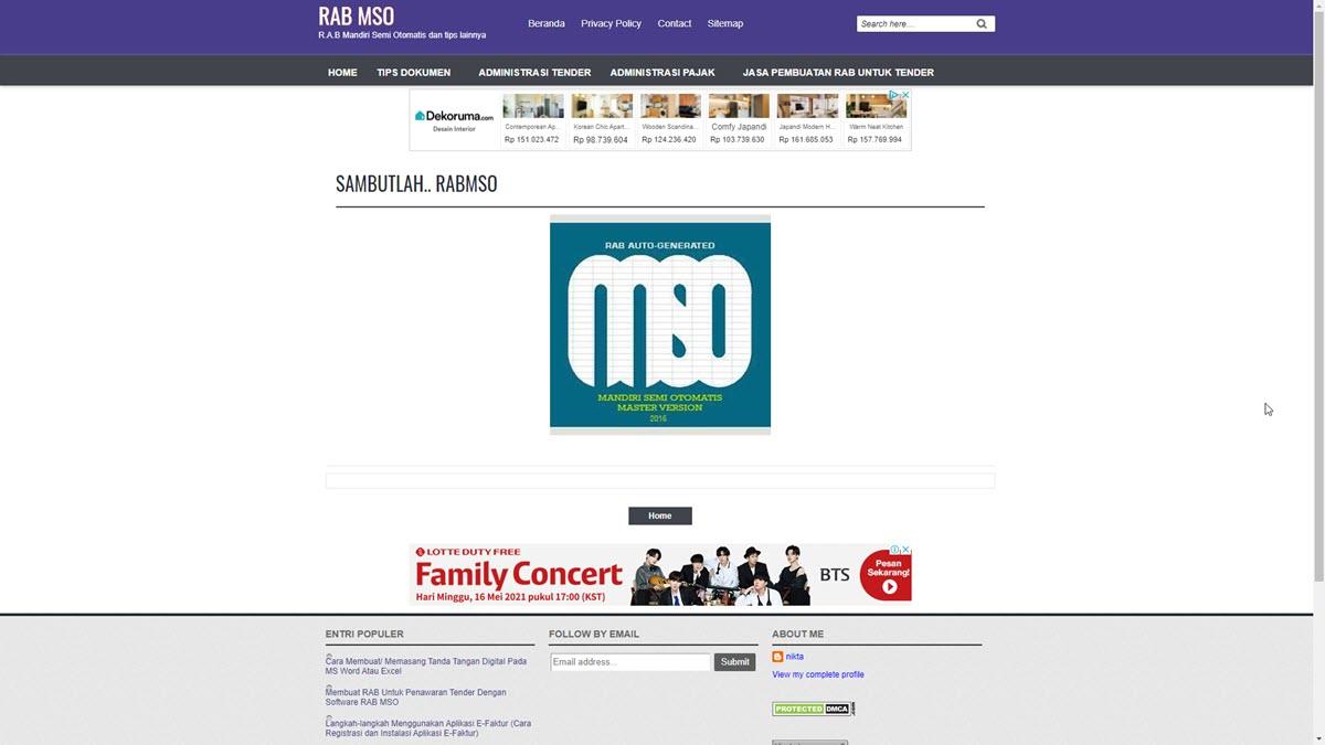 Website RAB MSO
